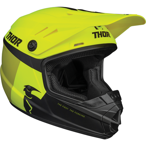 THOR Youth Sector Helmet - Racer - Acid/Lime