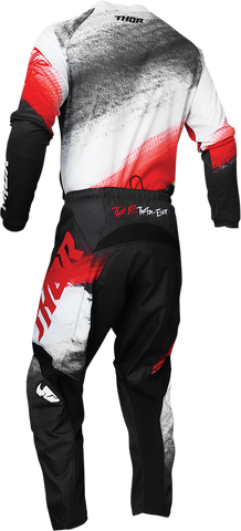 THOR Sector Vapor Jersey - Red/Black