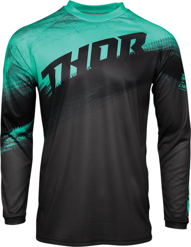 THOR Youth Sector Vapor Jersey - Mint/Charcoal
