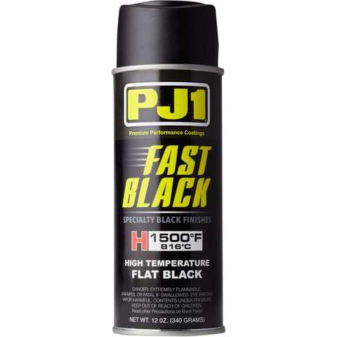 PJ1/VHT High-Temperature Exhaust Paint - 12 oz - Black 16-HIT