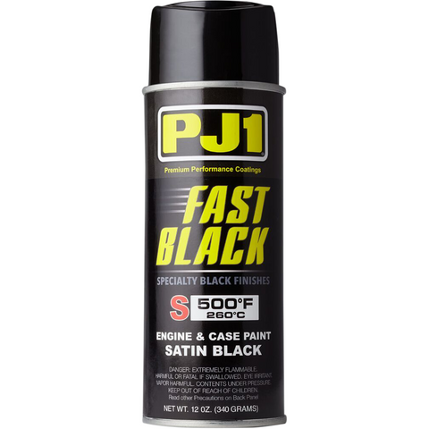 PJ1/VHT High-Temperature Paint - 12 oz - Satin Black 16-SAT
