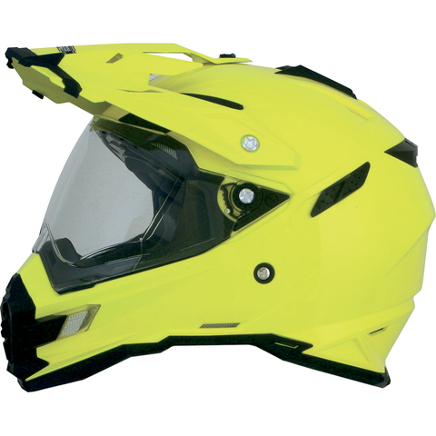AFX FX-41DS Helmet - Hi-Vis Yellow