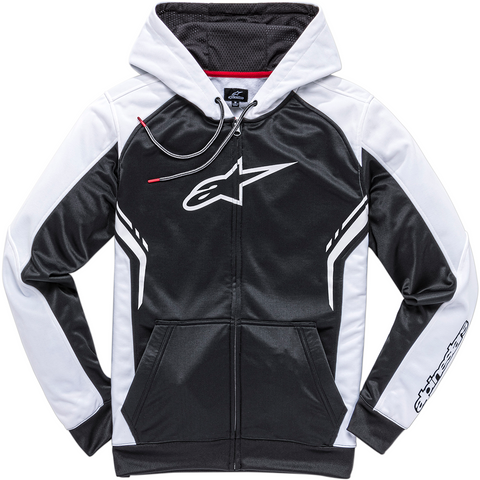 ALPINESTARS (CASUALS) Strike Zip Hoodie - Black/White