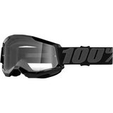 100% Strata 2 Goggles - Black - Clear 50421-101-01 - Trailhead Powersports a Mines and Meadows, LLC Company