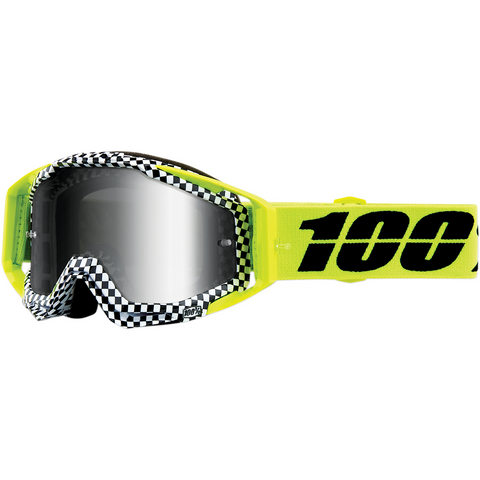 100% Racecraft Goggles - Andre - Silver Mirror Lens 50110-315-02 - Trailhead Powersports a Mines and Meadows, LLC Company