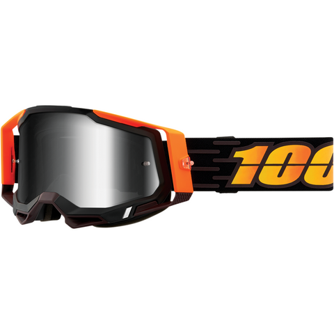 100% Racecraft 2 Goggles - Costume 2 - Silver Mirror 50121-252-15 - Trailhead Powersports a Mines and Meadows, LLC Company