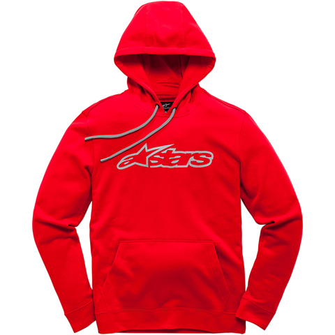 ALPINESTARS (CASUALS) Blaze Hoodie - Red/Gray