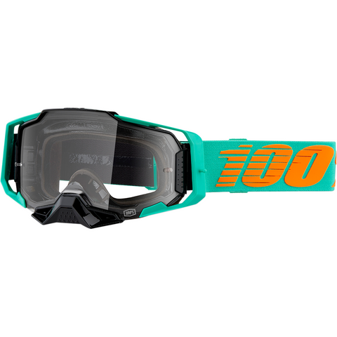 100% Armega Goggles - Clark - Clear Lens 50700-359-02 - Trailhead Powersports a Mines and Meadows, LLC Company