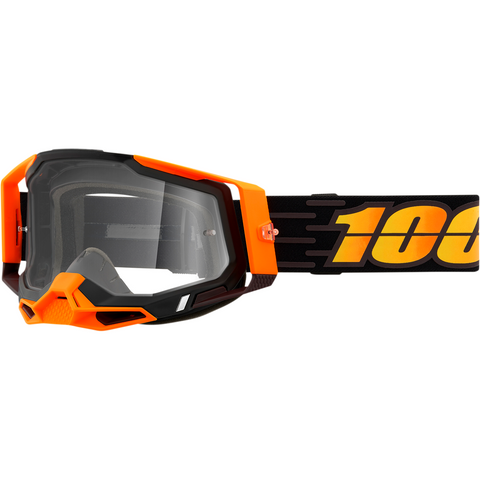 100% Racecraft 2 Goggles - Costume 2 - Clear 50121-101-15 - Trailhead Powersports a Mines and Meadows, LLC Company