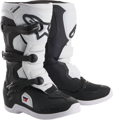 ALPINESTARS(MX) Tech 3S Boots - Black/White - US 2 2014018-12-2