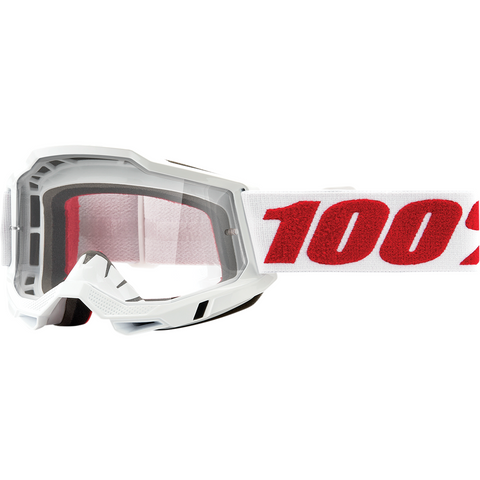 100% Accuri 2 Goggles - Denver - Clear 50221-101-10 - Trailhead Powersports a Mines and Meadows, LLC Company