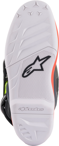 ALPINESTARS(MX) Tech 7S Boots - Gray/Red/Yellow - US 2 2015017-9058-2