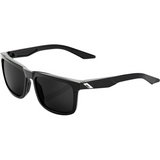 100% Blake Sunglasses - Gloss Black - Smoke Polarized 61029-001-47
