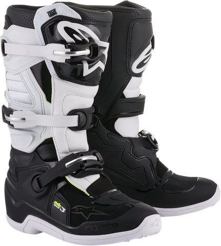 ALPINESTARS(MX) Stella Tech 3 Boots - Black/White