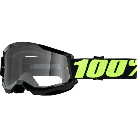 100% Strata 2 Goggles - Upsol - Clear 50421-101-11 - Trailhead Powersports a Mines and Meadows, LLC Company