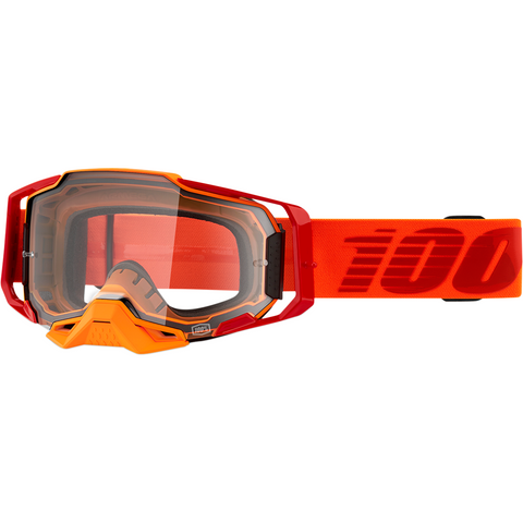 100% Armega Goggles - Litkit - Clear 50700-354-02 - Trailhead Powersports a Mines and Meadows, LLC Company