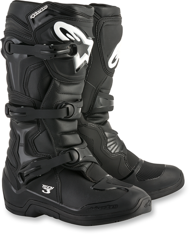 ALPINESTARS(MX) Tech 3 Boots - Black - US 5 2013018-10-5