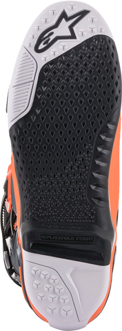 ALPINESTARS(MX) Tech 10 Boots - Gray/Orange/Black/White - US 7 2010020-9040-7