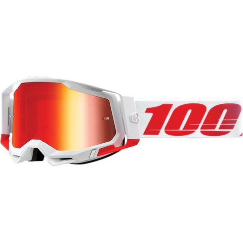 100% Racecraft 2 Goggles - St. Kith - Red Mirror 50121-251-14 - Trailhead Powersports a Mines and Meadows, LLC Company