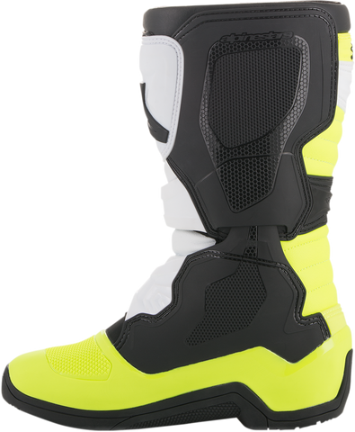 ALPINESTARS(MX) Tech 3S Boots - Black/White/Yellow - US 2 2014018-125-2