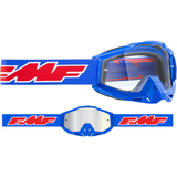 FMF VISION PowerBomb OTG Goggles - Rocket - Blue - Clear F-50204-101-02