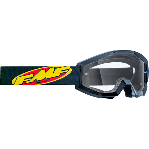 FMF VISION PowerCore Goggles - Core - Black - Clear F-50400-101-01