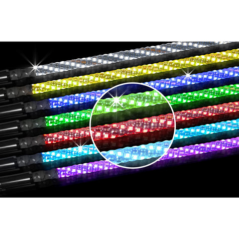 360 Degree RGB LED Whip Flag