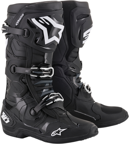 ALPINESTARS(MX) Tech 10 Boots - Black - US 7 2010020-10-7