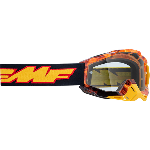 FMF VISION Youth PowerBomb Goggles - Spark - Clear F-50300-101-06