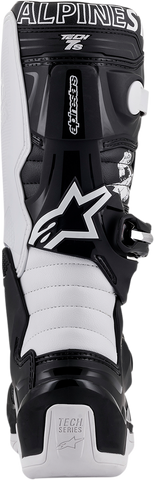 ALPINESTARS(MX) Youth Limited Edition Tech 7 Dialed Boots - Black/White - US 4 2015017-121-4