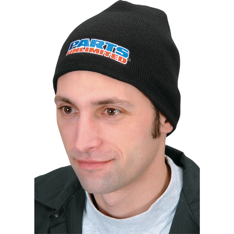 PARTS UNLIMITED Parts Unlimited Beanie - Black