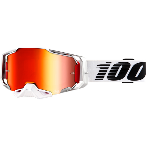 100% Armega Goggles - Lightsaber - Red Mirror 50710-355-02 - Trailhead Powersports a Mines and Meadows, LLC Company