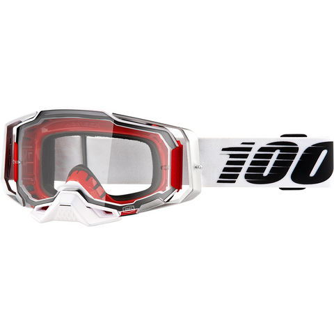 100% Armega Goggles - Lightsaber - Clear 50700-355-02 - Trailhead Powersports a Mines and Meadows, LLC Company
