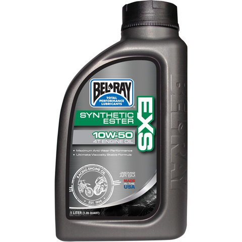 BEL-RAY EXS Synthetic 4T Oil - 10W50 - 1 L 99160-B1LW