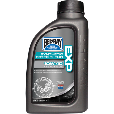 BEL-RAY EXP Synthetic Blend 4T Oil - 10W40 - 1 L 99120-B1LW