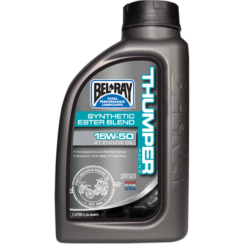 BEL-RAY Thumper Synthetic Blend 4T Oil - 15W-50 - 1 L 99530-B1LW
