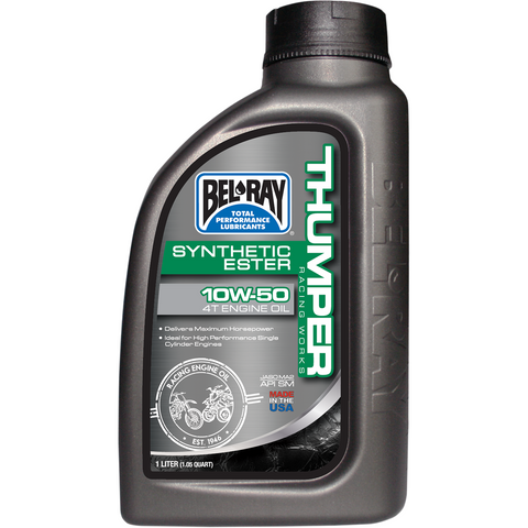 BEL-RAY Thumper Synthetic Oil  10W-50 - 1 L 99550-B1LW
