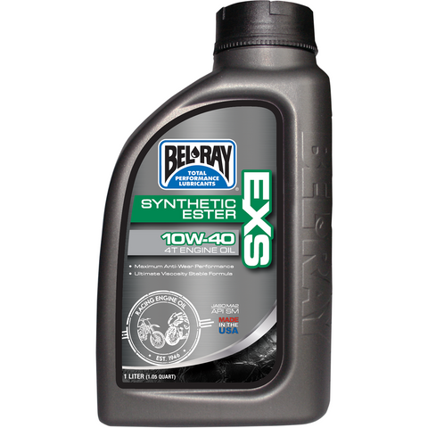 BEL-RAY EXS Synthetic 4T Oil - 10W40 - 1 L 99161-B1LW