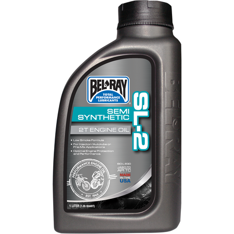 BEL-RAY SL-2 Semi-Synthetic 2T Oil 99460-B1LW