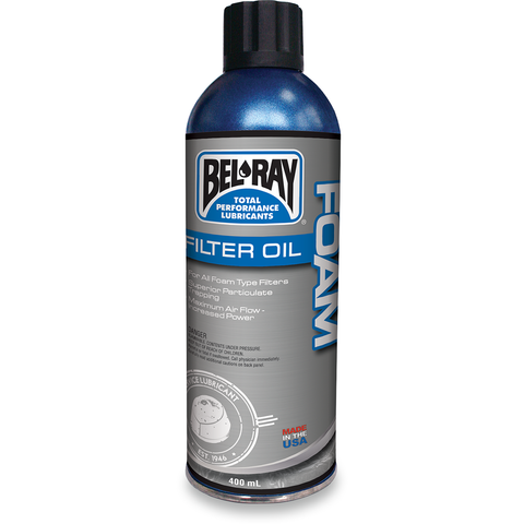 BEL-RAY Foam Filter Oil - Spray 99200-A400W