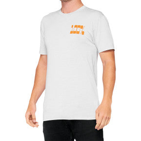 100% Trona Tech T-Shirt - Chalk