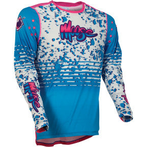 MOOSE RACING SOFT-GOODS Agroid Jersey - Blue/Pink/White