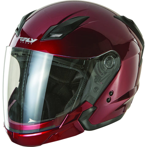 FLY RACING TOURIST SOLID HELMET CANDY RED