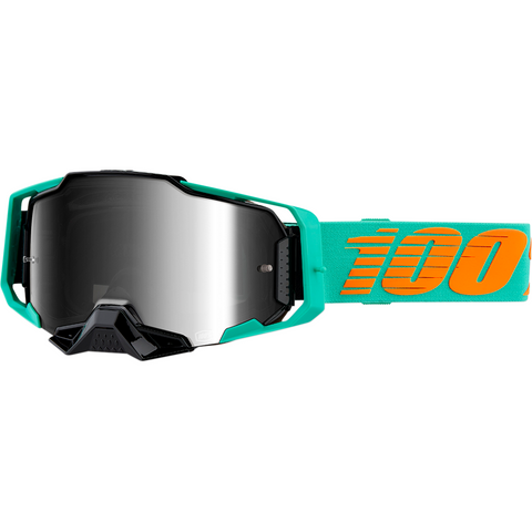 100% Armega Goggles - Clark - Silver Flash Mirror 50710-359-02 - Trailhead Powersports a Mines and Meadows, LLC Company