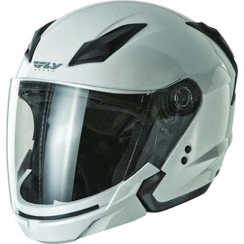 FLY RACING TOURIST SOLID HELMET PEARL WHITE