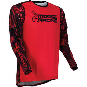 MOOSE RACING SOFT-GOODS Agroid Jersey - Red/Black