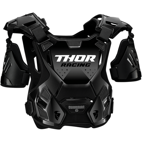 THOR Youth Guardian Roost Deflector - Black - 2XS/XS