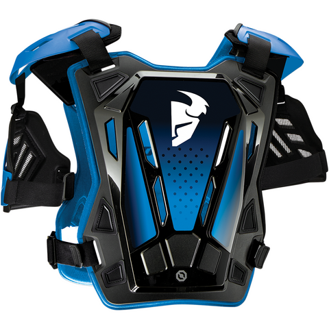 THOR Youth Guardian Roost Deflector - Blue - S/M