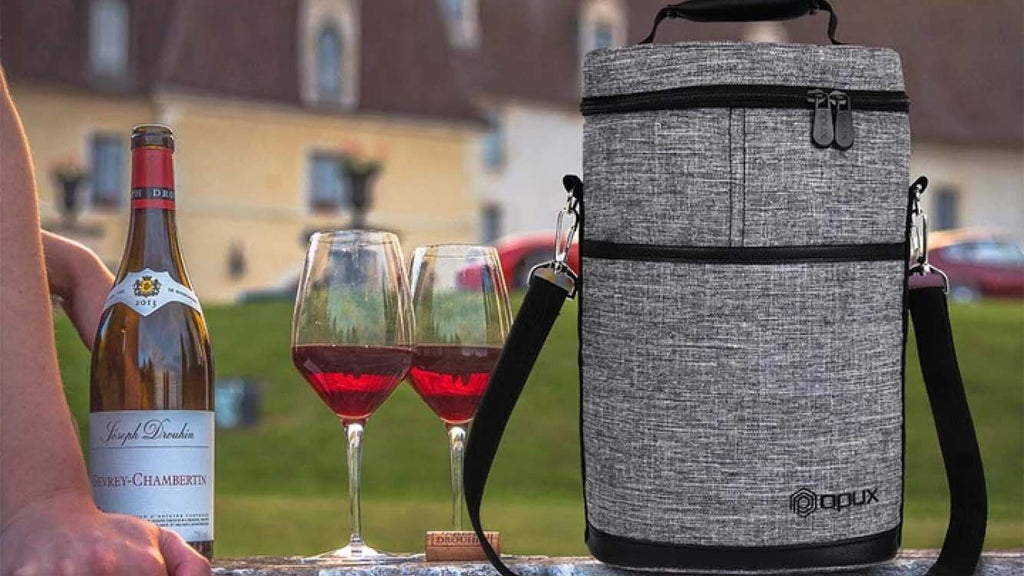 Opux Insulated 2 & 3 Bottle WineTote