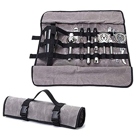 Bartender Kit Roll Bag With Tools - Big Aroha